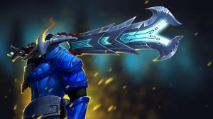 Sven and The Furious Rune Sword by ThranTantra