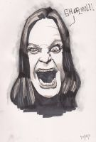 Ozzy Sketch by j0epep