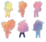 Chibis Artists Two by Kamira-Exe