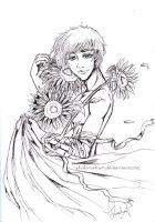 Hetalia Russia: Star Sunflowers by shalimahsm