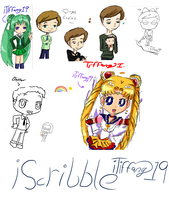 iScribble doodles by iTiffanyBlue