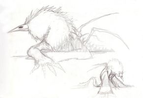 Kroak Sketches by CuriousCreatures