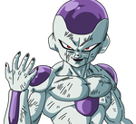 Dragonball Freezer 4 Form Lineart Farbig by WallpaperZero