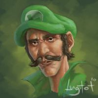 old luigi by chase-chase