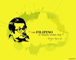 Ninoy Tribute WP by eR0n22
