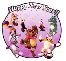 Happy New Year! by SmashingRenders