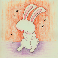 Daily Rabbit: 02-04-13 by bunnykissd