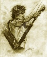 Rambo First Blood part II. by bohemiannihil