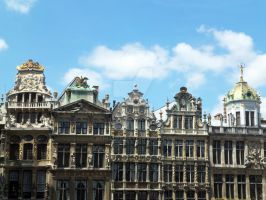 Grand Place by BeniAuer