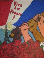 Vive La France! by RedAmerican1945