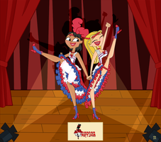 total drama - Cancan [request] by Little-White-Boots