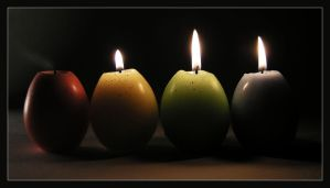 Candle Eggs by lukeroberts