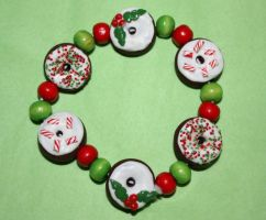 Christmas cheer bracelet by citruscouture