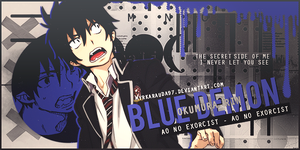 Okumura Rin [Day 1 - 30 Days Designing] by MyrkaRauda97