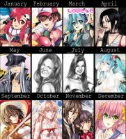 .:2013 ART SUMMARY:. by yoneyu