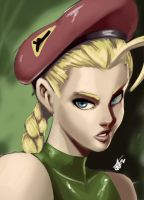 Cammy White by thehumancopier