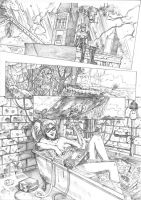 Harley Quinn Pencil Page by ellinsworth