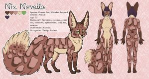 Reference Sheet - Nix Novella by recycled-batteries