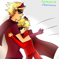 .:Hey, brother:. by xTechnicolorz