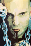 Portrait -- David Draiman by TheDalishRanger