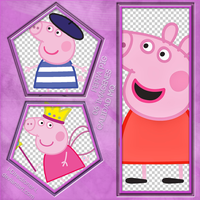 Peppa Pig - Photopack PNG by l-Directioner-l