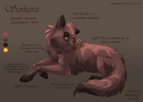Char Sheet 10 - Sarkava by Kiarei-star