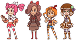 Candied Girls by The-Knick