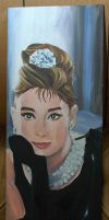Audrey . by lavendershards