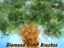 Diamond GIMP Brushes (For GIMP 2.6) by PkGam