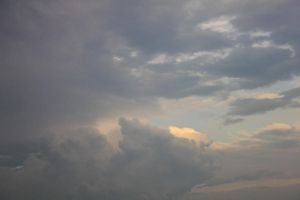 Late Day Clouds 03 - Stock by Thy-Darkest-Hour