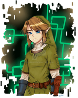 Twilight Princess Link by Bluechui