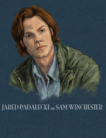 Sam Winchester: Color by kyriadalyn