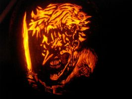 Joker Pumpkin by rjclrutter