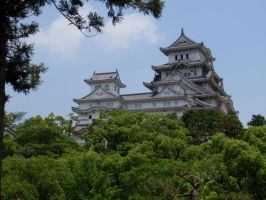 Himeji Castle 2 by DreamsWithinMe