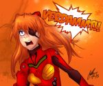 Asuka strikes! by jameselmsart