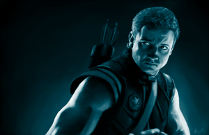 Clint Barton by ForeverRunningFree