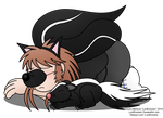 Nap Time for Skunks by LordDominic
