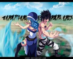 Fairy Tail 432 - Water and Ice by Uendy