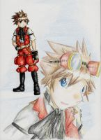 Steampunk Sora by LordCavendish