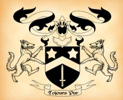 Black Family Coat of Arms by verreaux