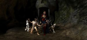 Contessa and the Pack by HectorNY