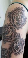 Rose Tattoo by GAME-OVER-CUSTOM