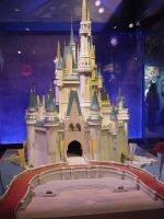 Cinderella Castle Model by AreteStock