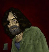 Charles Manson - Color by The-Real-NComics