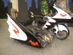 BatCycle With Robin's Sidecar by LittleBigDave