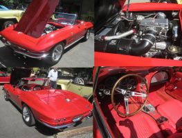 64 Chevy Corvette by zypherion
