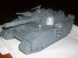 BaneSword Super heavy tank by pablodiablo316