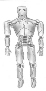 Humanoid robot by Henrry2012