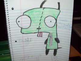 Invader Zim: G.I.R by zimfan609