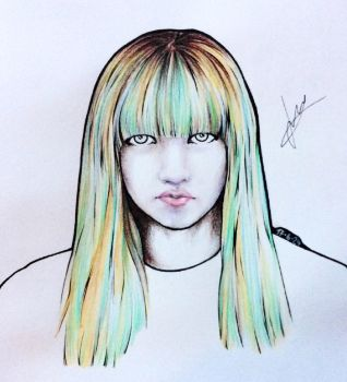 BLACKPINK - Lisa by Alex555x3
